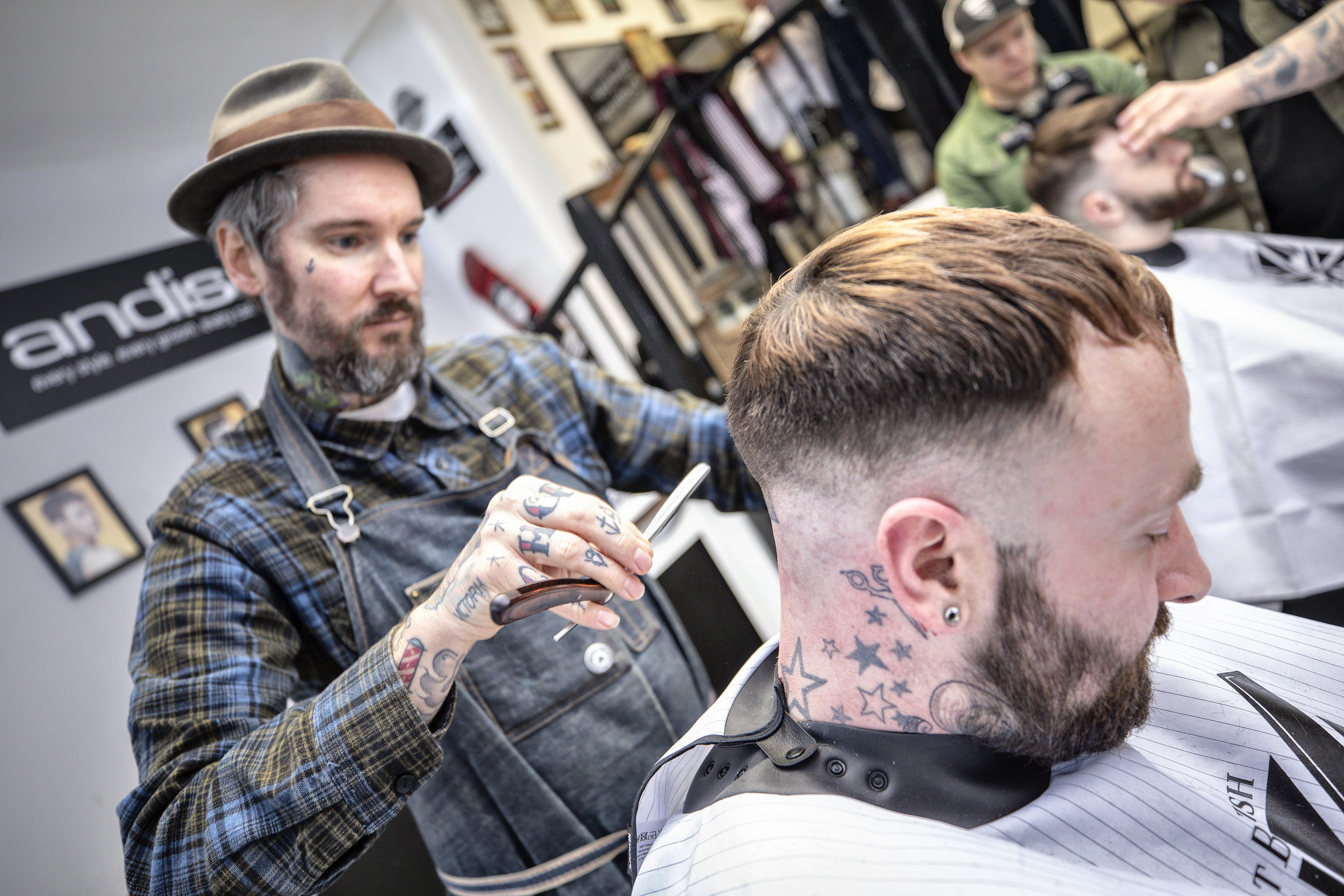 VTCT NVQ Level 2 in Barbering - This course is suitable for complete beginners and hairdressers looking to improve their barbering skills