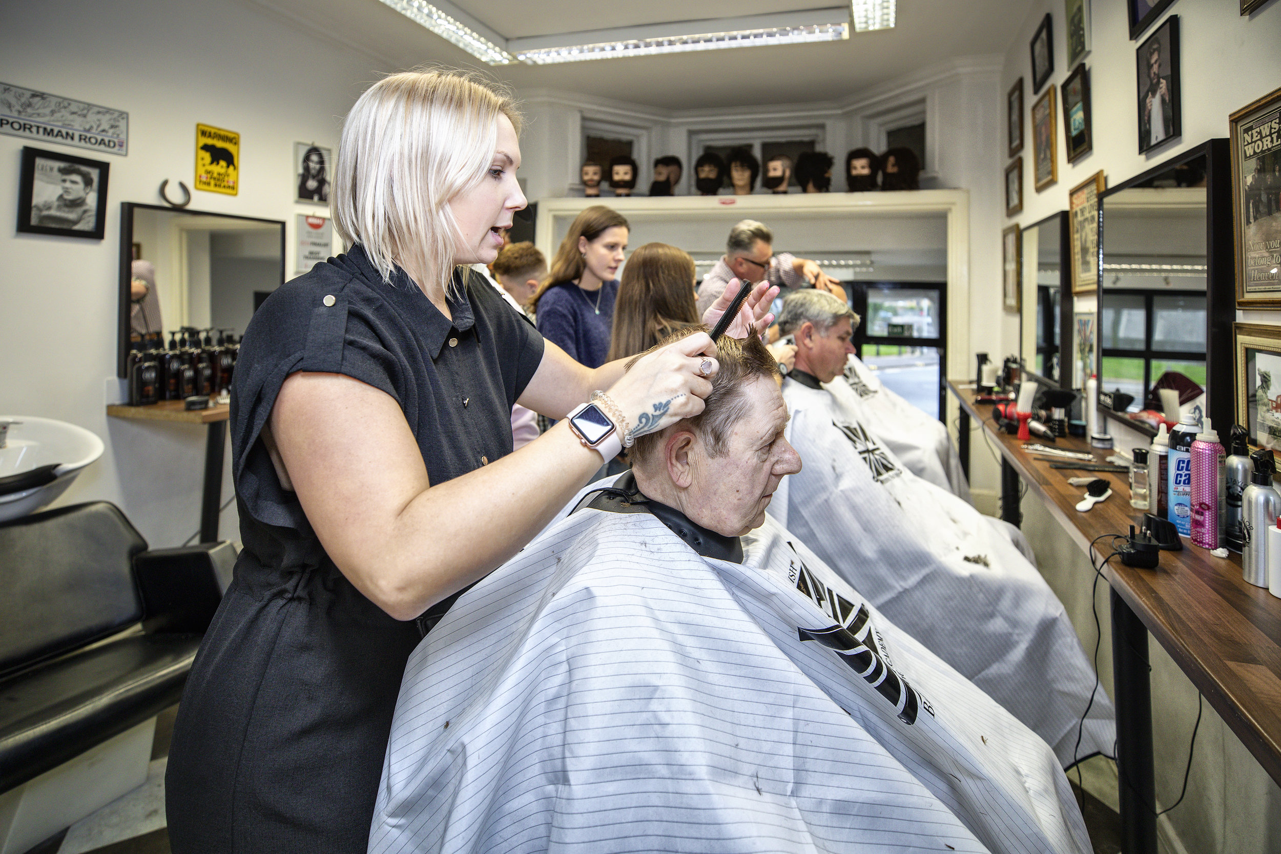 VTCT NVQ Level 3 in Barbering - This course is suitable for experienced barbers looking to develop and enhance their barbering skills
