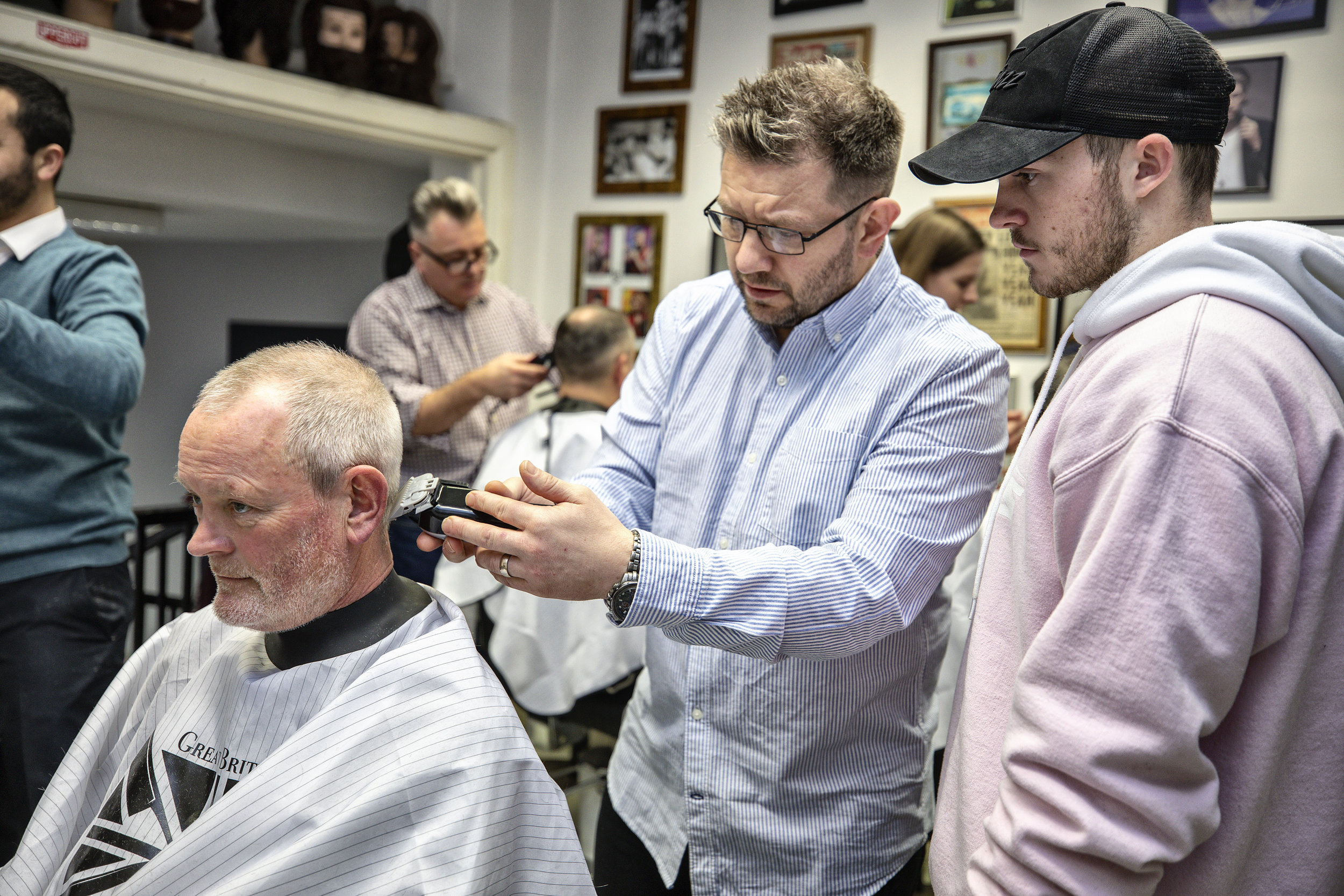 On the Road - Mike Taylor Education has a dedicated team who can provide visits to your barbershop, salon, college or training academy