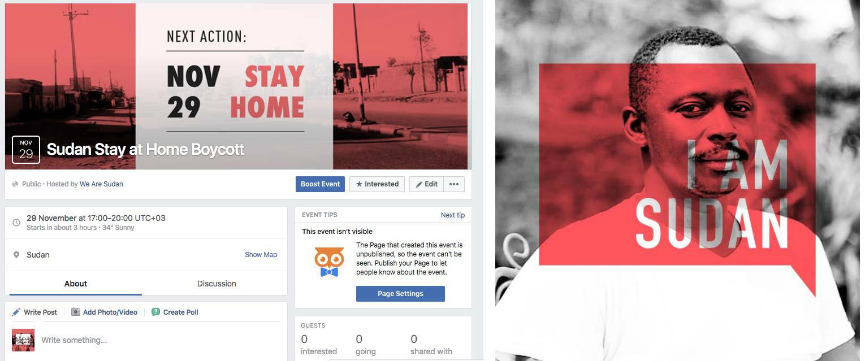 The team explored ways to mobilise disenfranchised Sudanese on social media