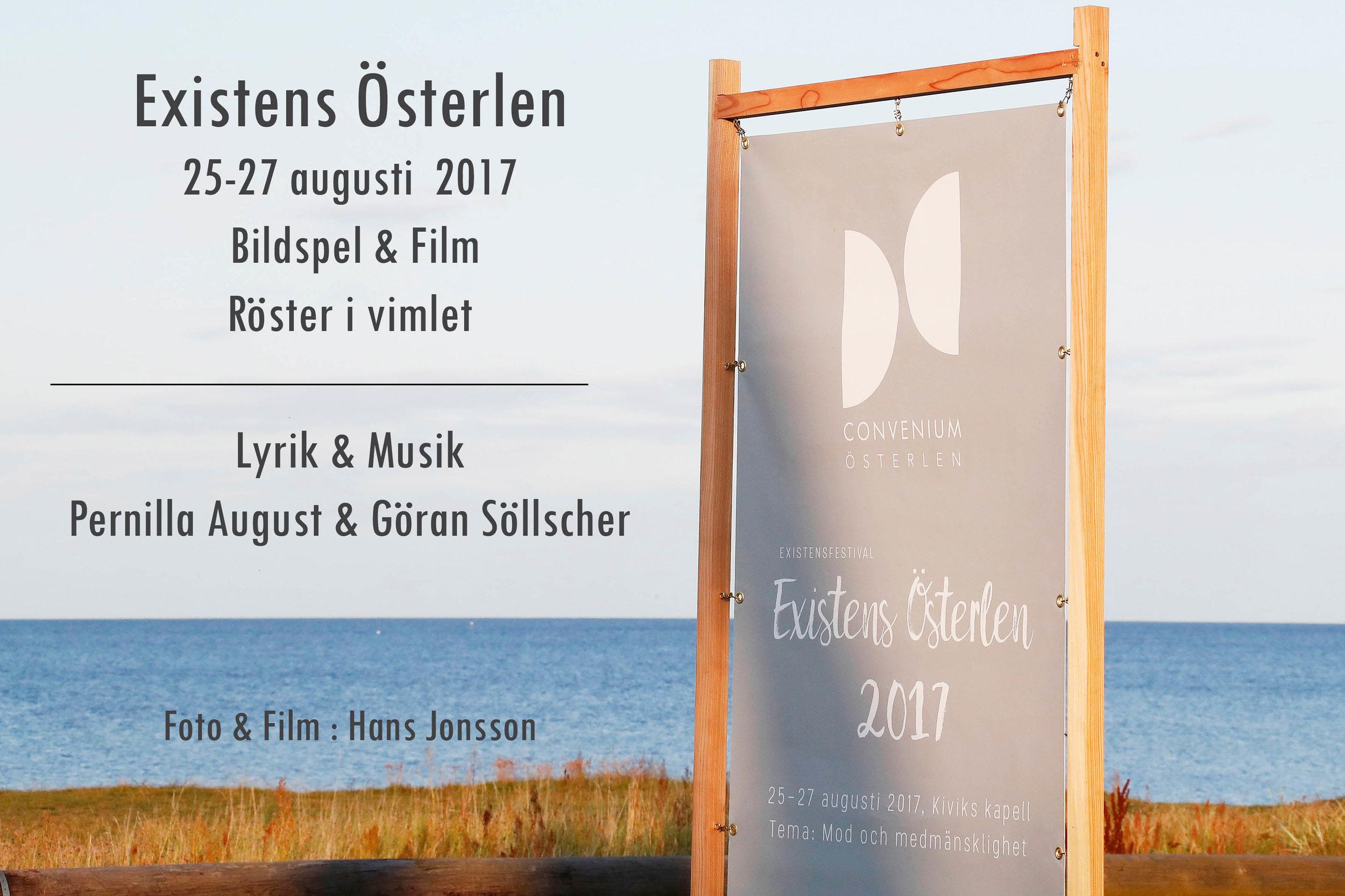 """I slutet av augusti 2017 arrangerade Convenium """"Existens Österlen"""" på Kapellet i Kivik. 3 fantastiska dagar med temat: Mod och medmänsklighet."""