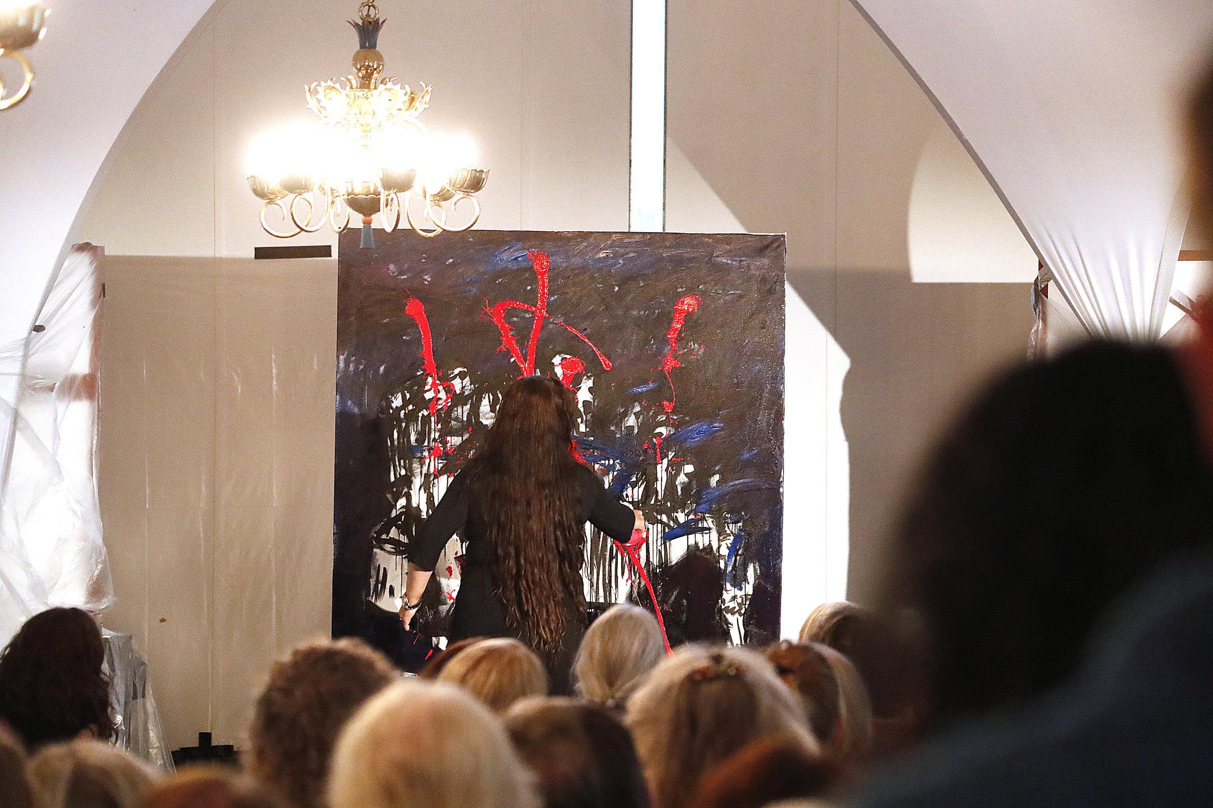 Copy of Art performance med Wejdan Derky