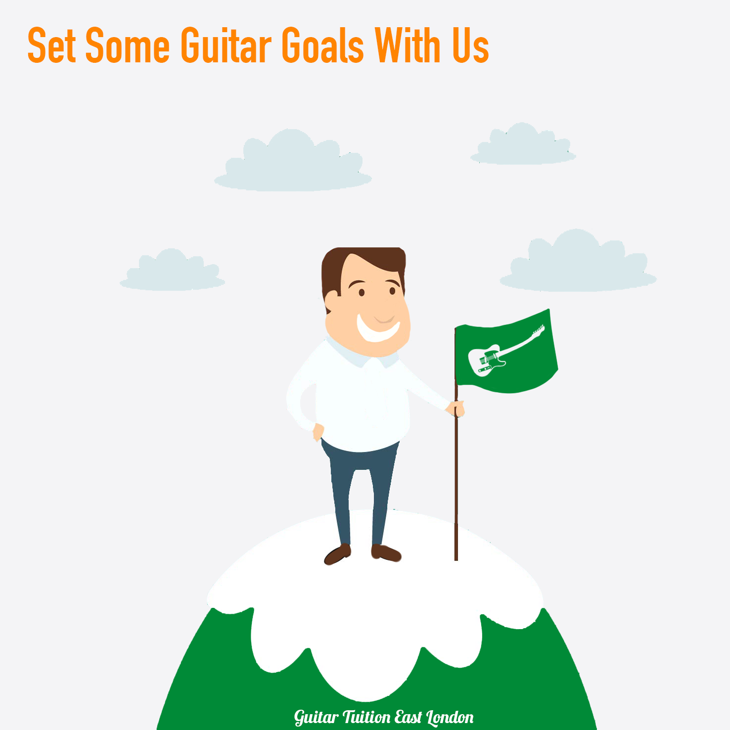 Let us help you reach your guitar playing goals!