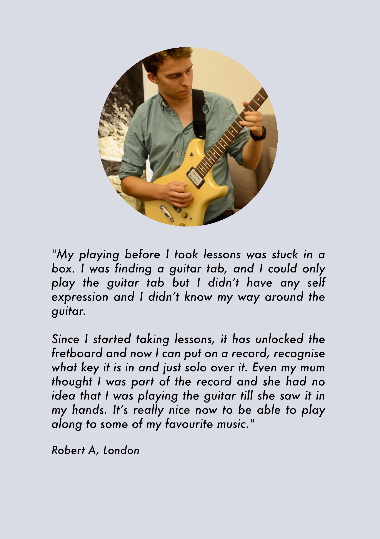 London Guitar Lessons beginners