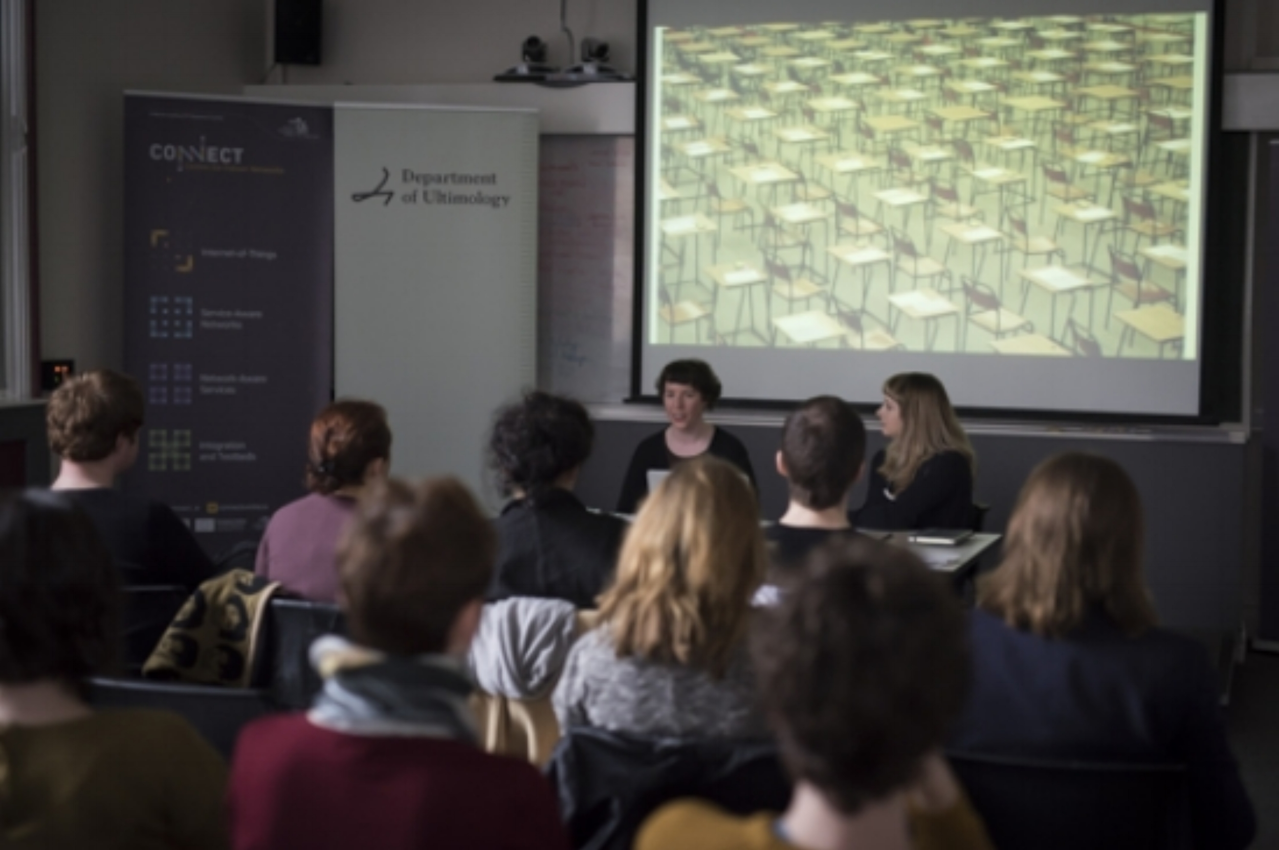 Department of Ultimology Programme Launch, February 20, 2017, CONNECT. Photography by Louis Haugh.
