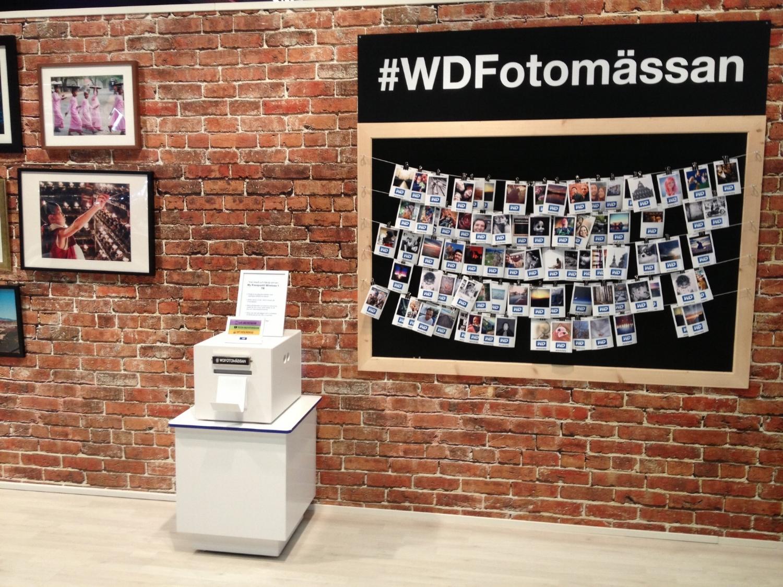 Skriver ut gästernas instagramfoton via er hashtag. Instagram-boost. -