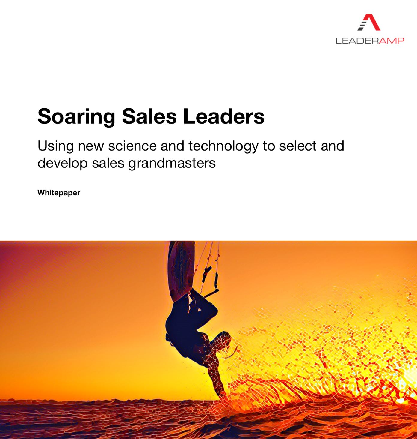 Soaring Sales Leaders Whitepaper Screenshot