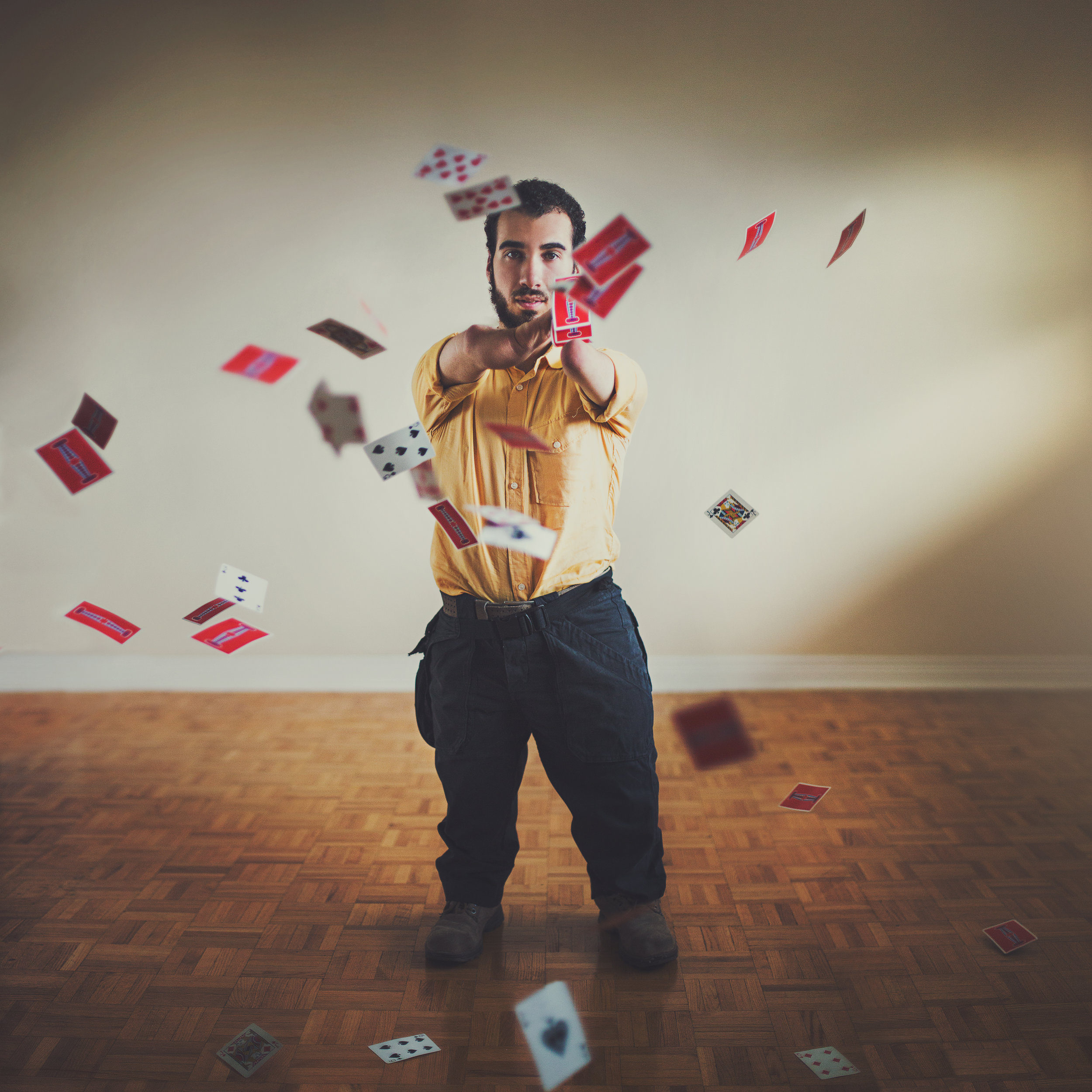 Mahdi Gilbert Magician Without Hands or Feet