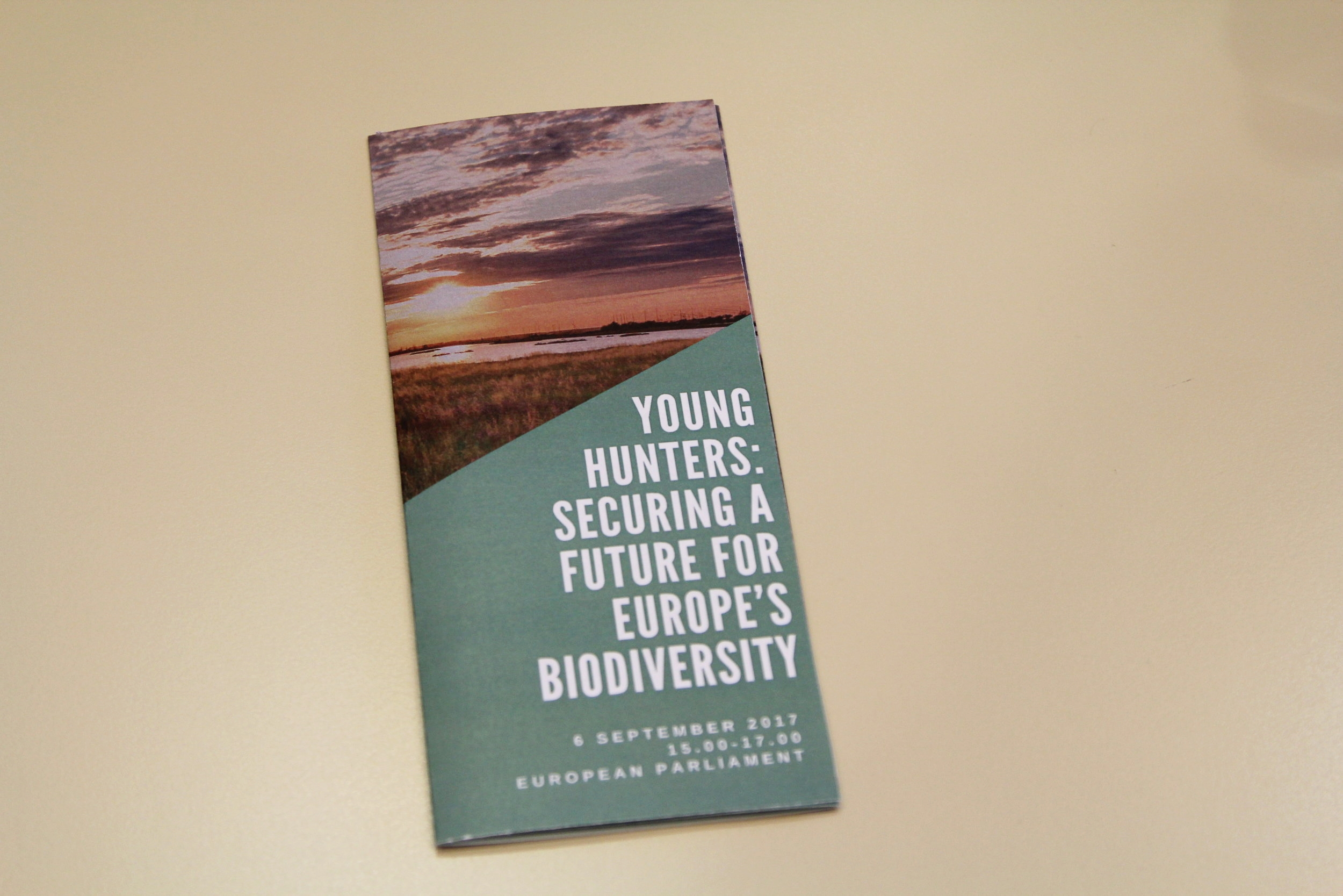 Young Hunter's pamphlet