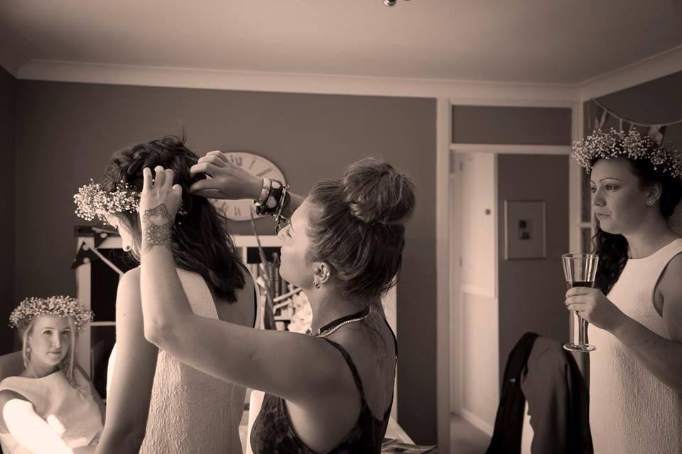 becca hunton hair styling