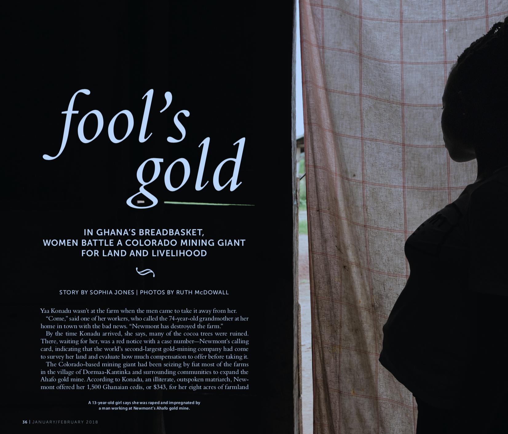 Fool's Gold - SIERRA