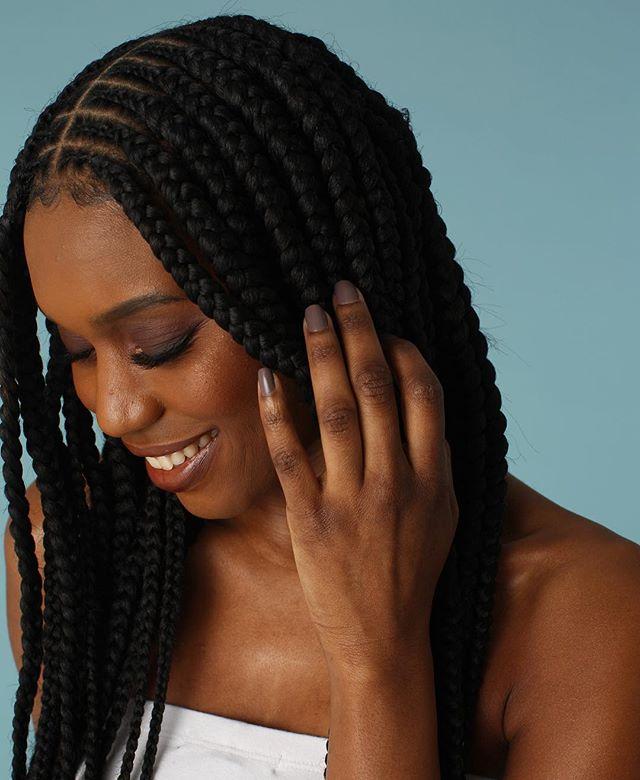 #feedinbraids featuring 100% #TOYOKALON TZ3 braid hair by @supremehairus . . . #braidstyles #braidedhairstyles #BRAIDSGANG #blackgirlhairstyles #blackhairmag #blackgirlmagic