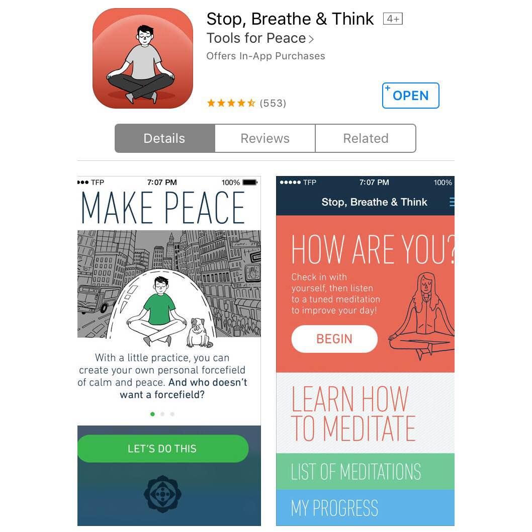 Stop, Breath, & Think