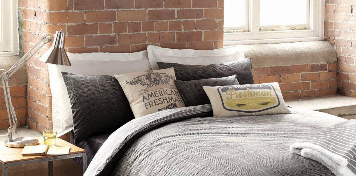 bright bedroom airy