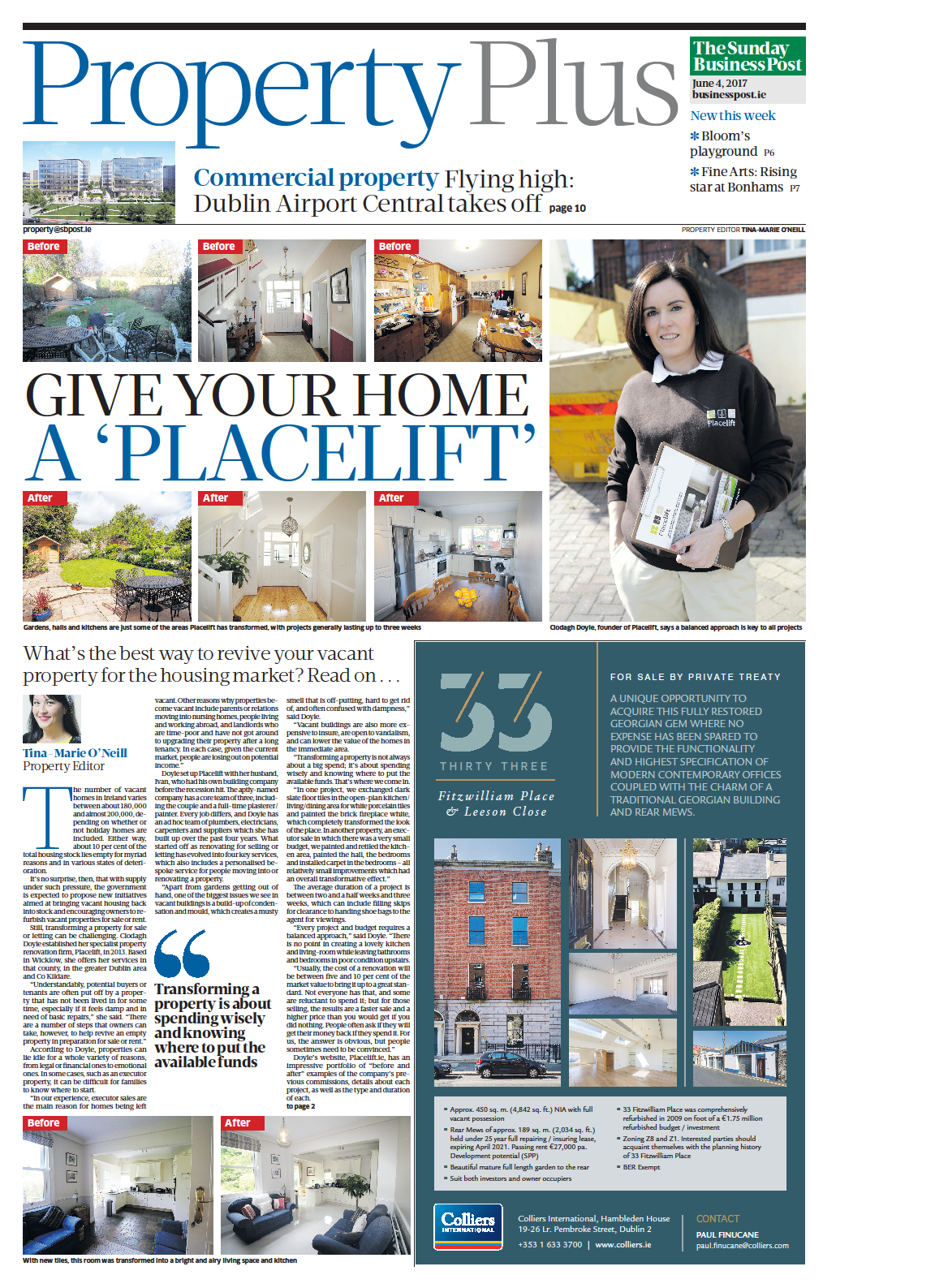 Sunday Business Post featuring Placelift