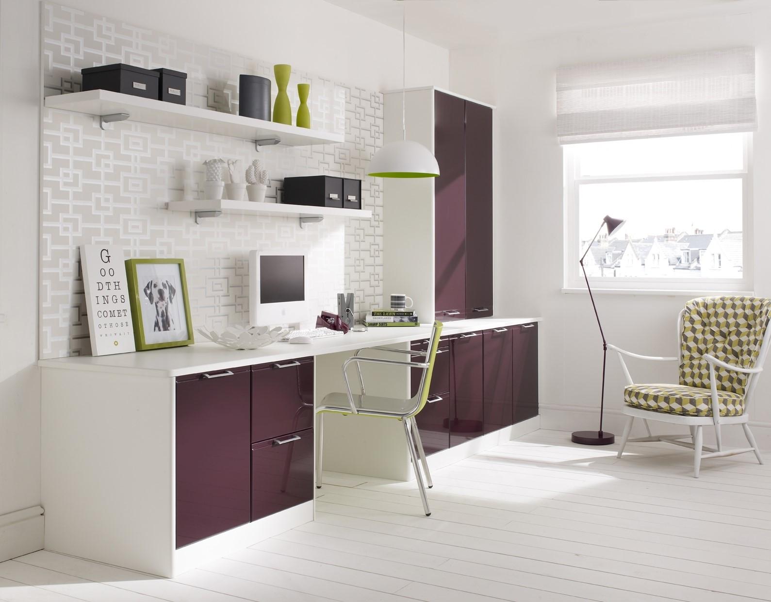 Purple office bright