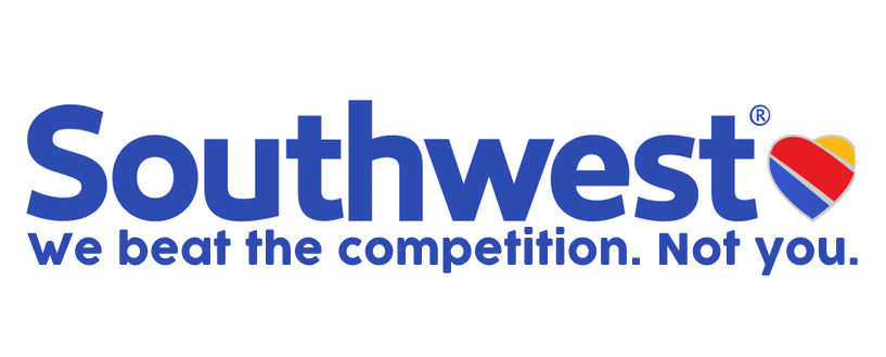 Since its inception,  Southwest  defied conventional industry wisdom by identifying cars, buses, and trains as its biggest competitors, more so than other airlines. It focused on short-haul segments, as well as 'point-to-point' flights only and a single class of service. But its no-frills business model - which competitors have been unable to replicate - accounts for just part of the brand's historic success. Flying can be stressful for many people and this Southwest's antidote is loving, caring humor. It even convinced people that it's fun  not to have a seat assignment. In the aftermath of 9/11, Southwest's leadership team refused to lay off a single employee because it believed that even though the company might lose money in the short term, maintaining job security would protect the organization's long-term health. and integrity. (The above ad was published immediately after the infamous episode in which a United Airlines passenger was physically beaten by officials and dragged off the plane after declining to give up his assigned seat in an overbooked flight.)