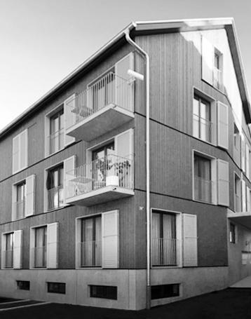 Uster – drei Mehrfamilienhäuser mit total  14 Wohnungen und 5 Gewerberäumen