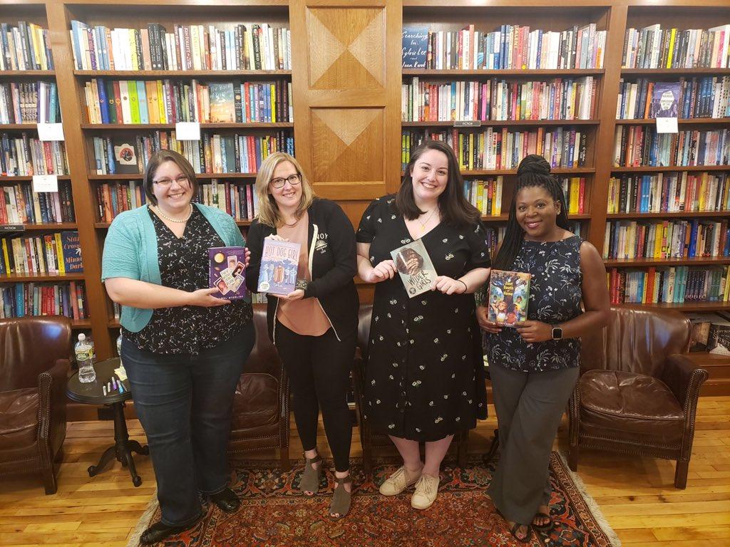 Isabel, Jenn, Rory, and Karen at Savoy!