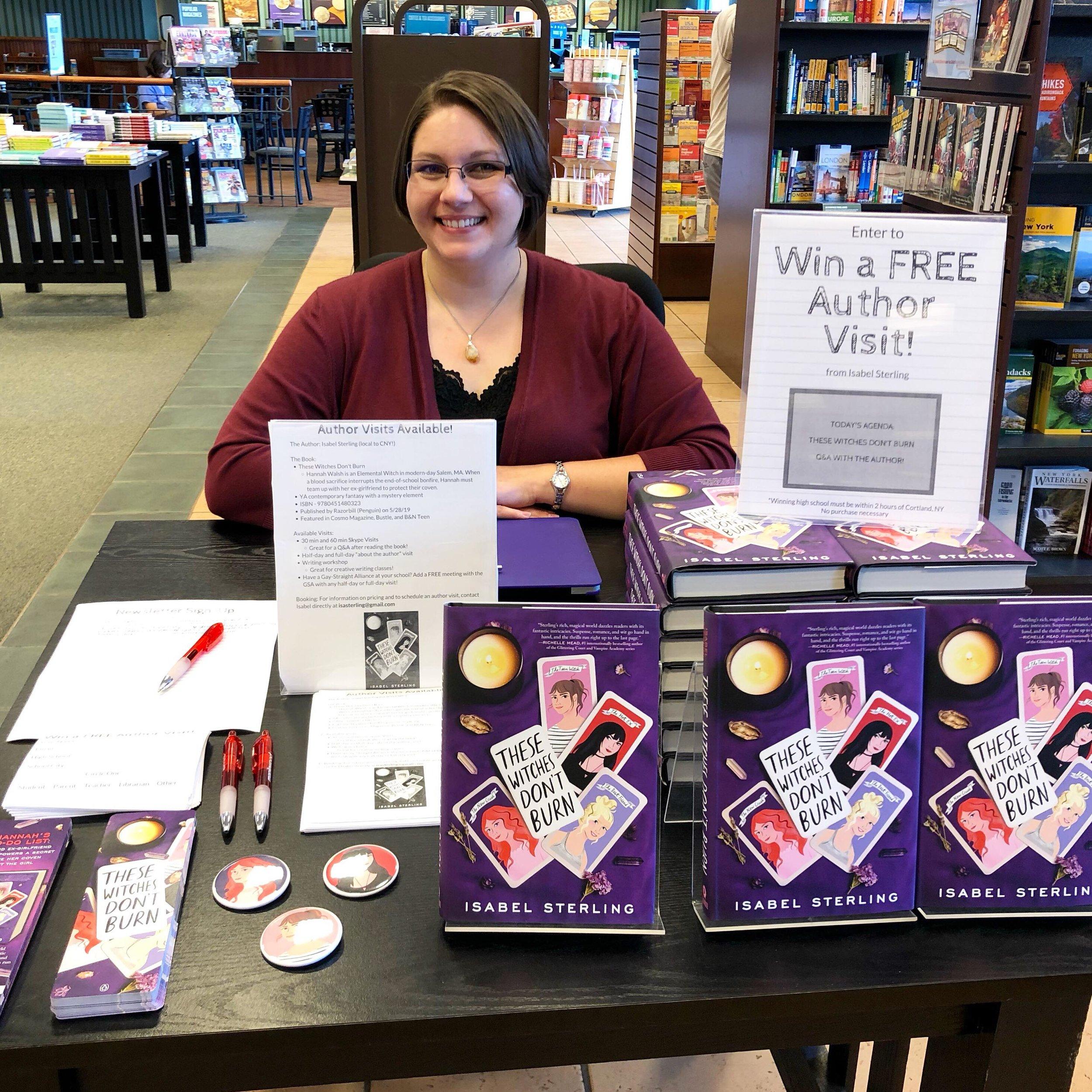 Isabel Sterling - B&N event - Aug 2019