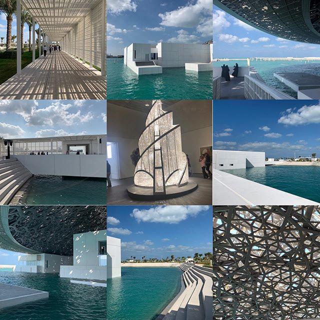 Vilken upplevelse! Arkitektoniskt mästerverk! #louvreabudhabi