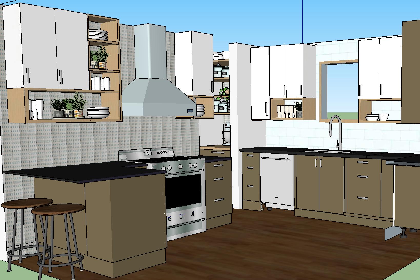 olliePop Design // Kitchen remodel design