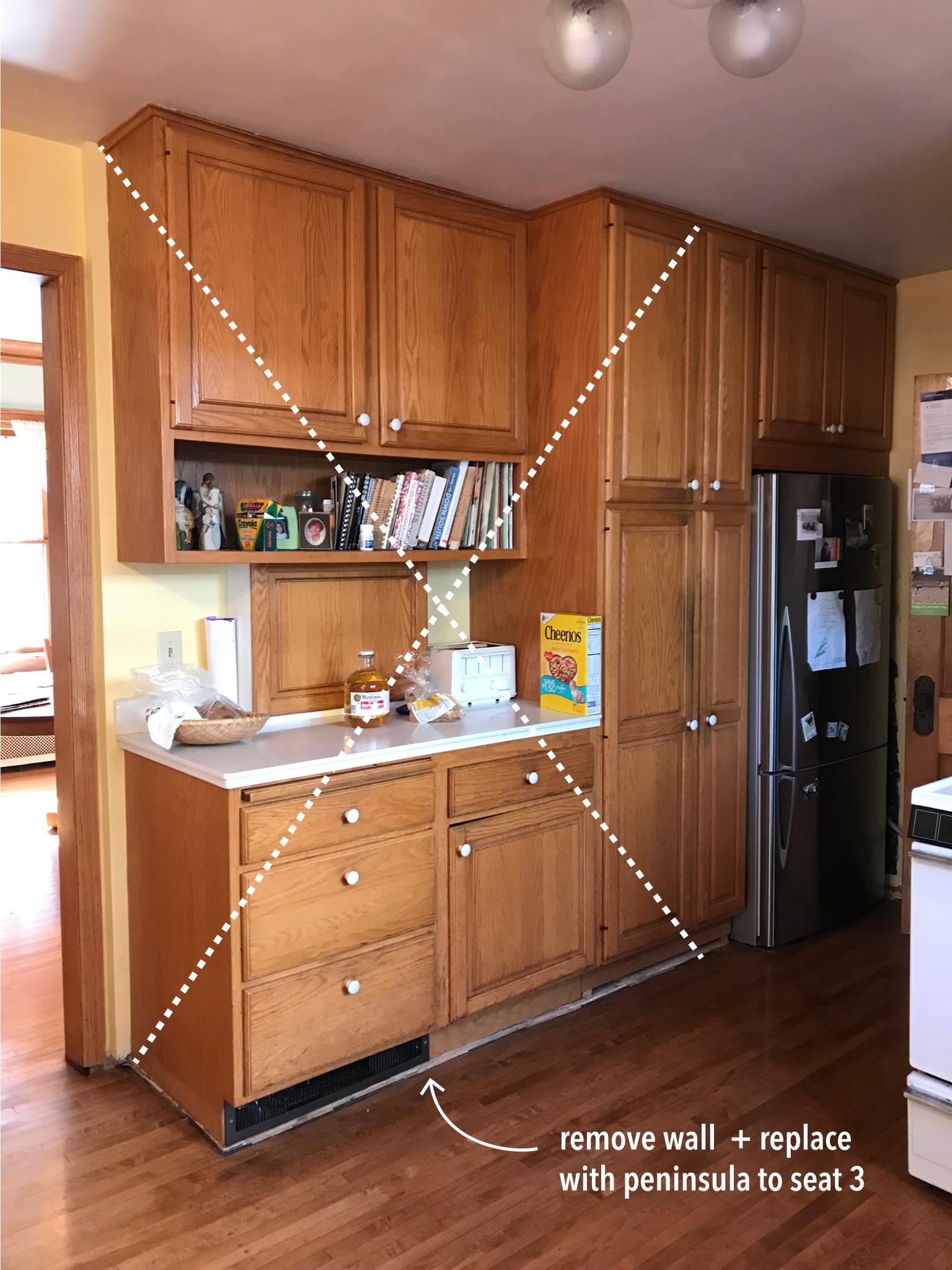 OlliePop Design // Kitchen remodel : b4