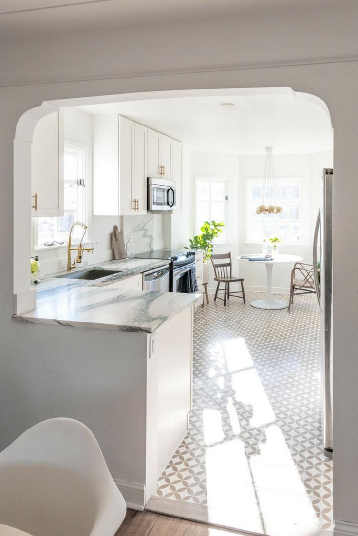 Friday Inspiration Stylish Kitchen Floors — HELLO NORDEN