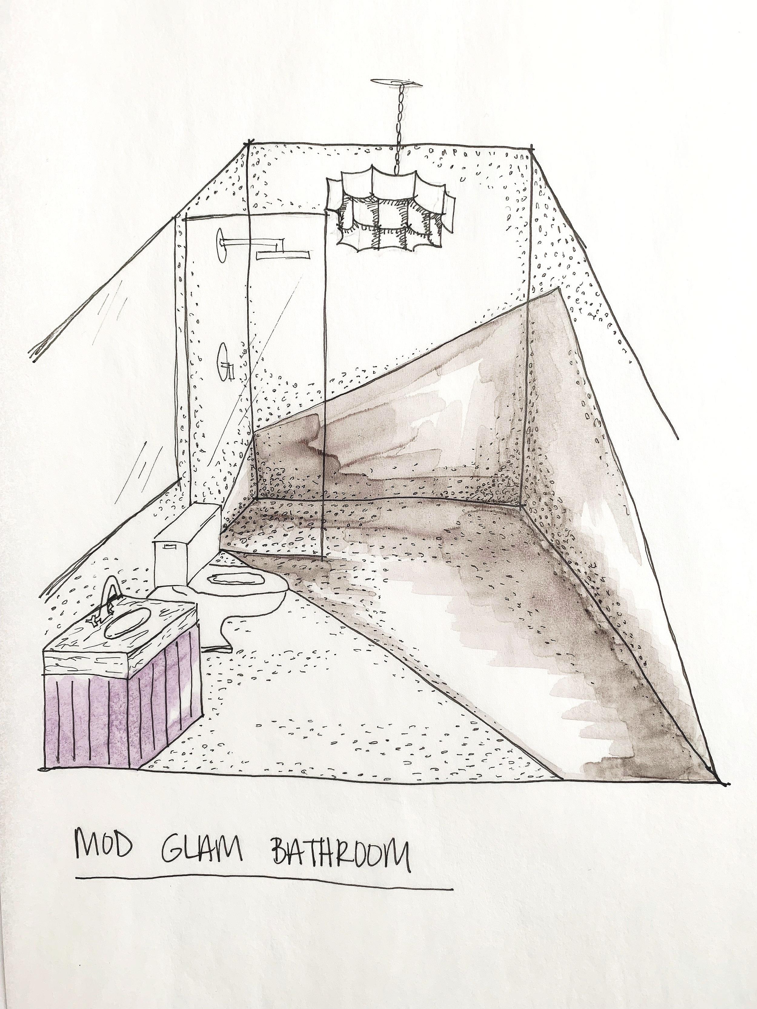 colorful+glam+bathroom+rendering