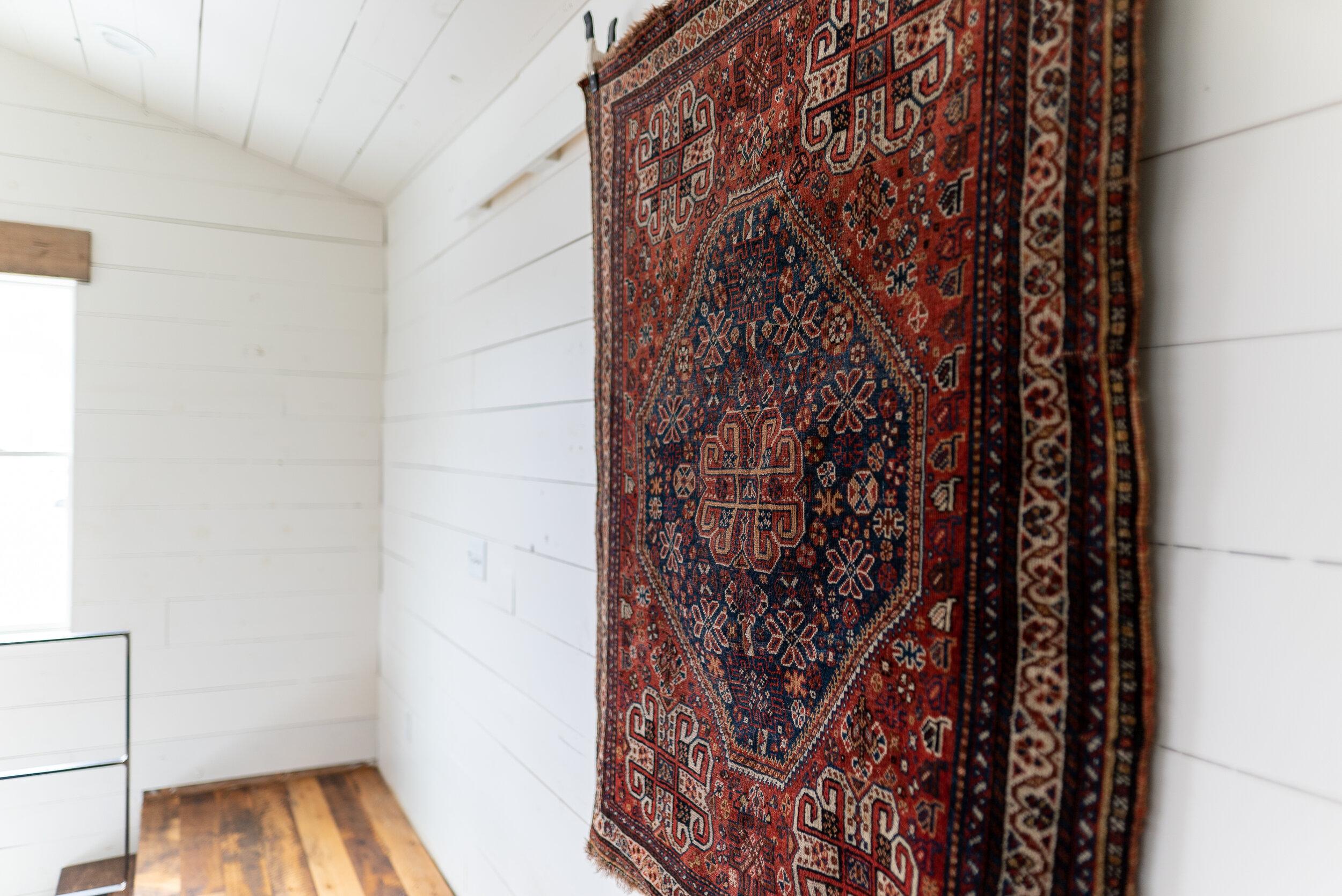 Bergen: Antique Wool Persian Rug