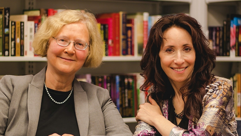 Dr. Elizabeth Blackburn and Dr. Elissa Epel, authors of The Telomere Effect
