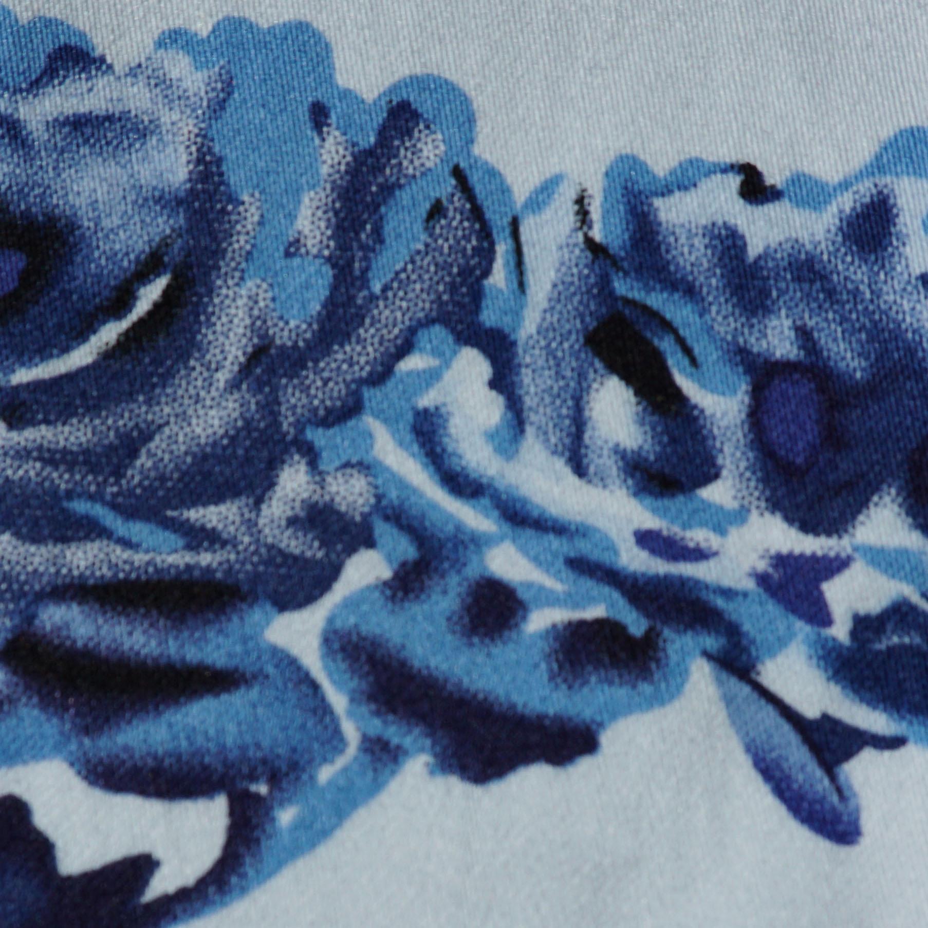 Fancy Your Floral White & True Blue