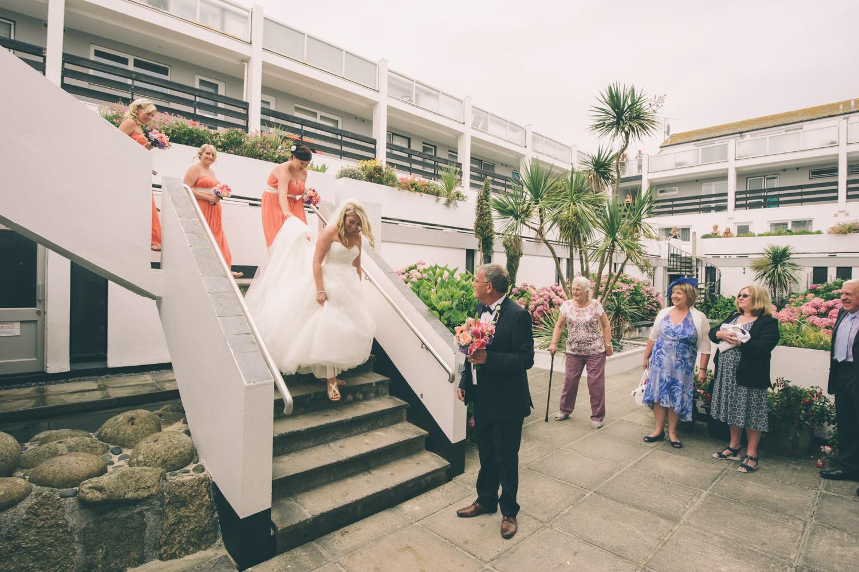 st ives harbour hotel wedding