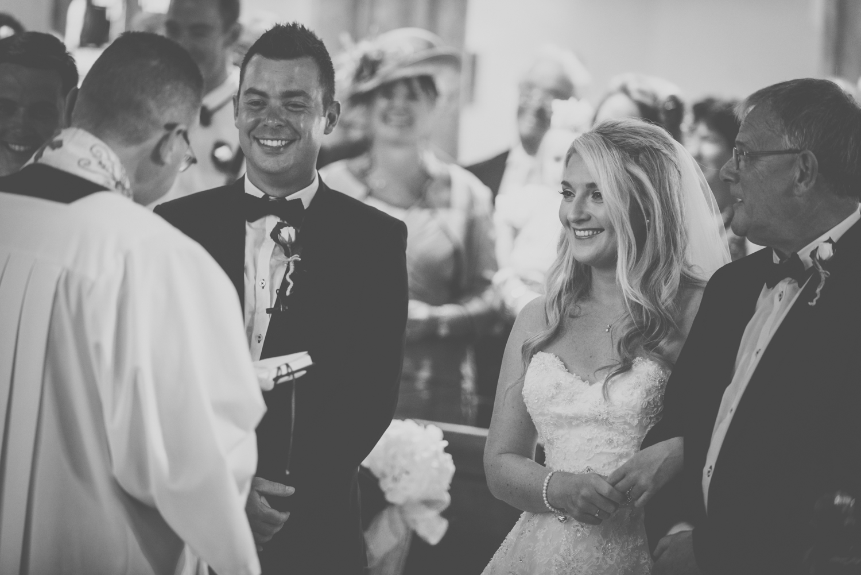 st ives church wedding