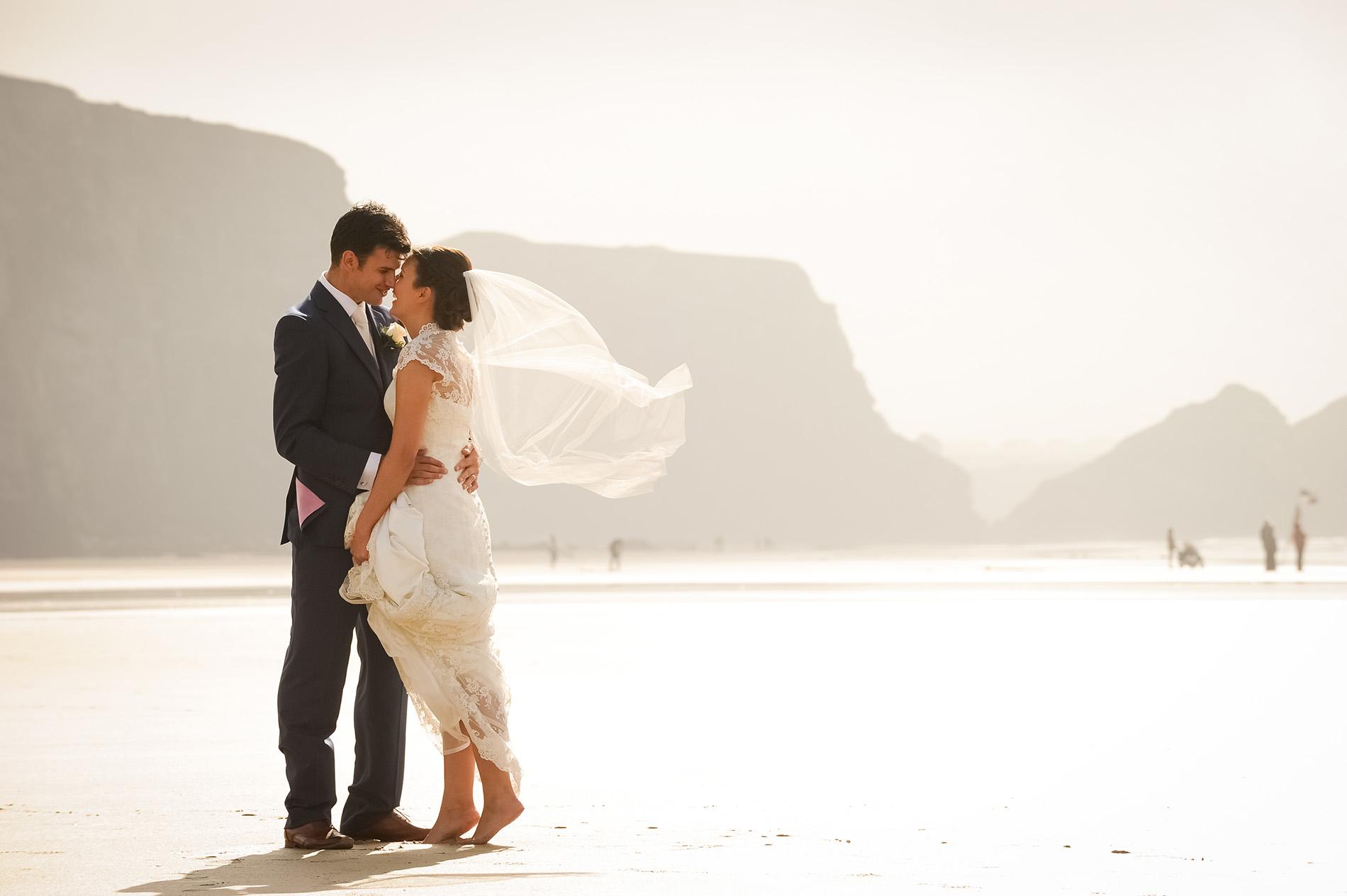 Watergate Bay Hotel Wedding