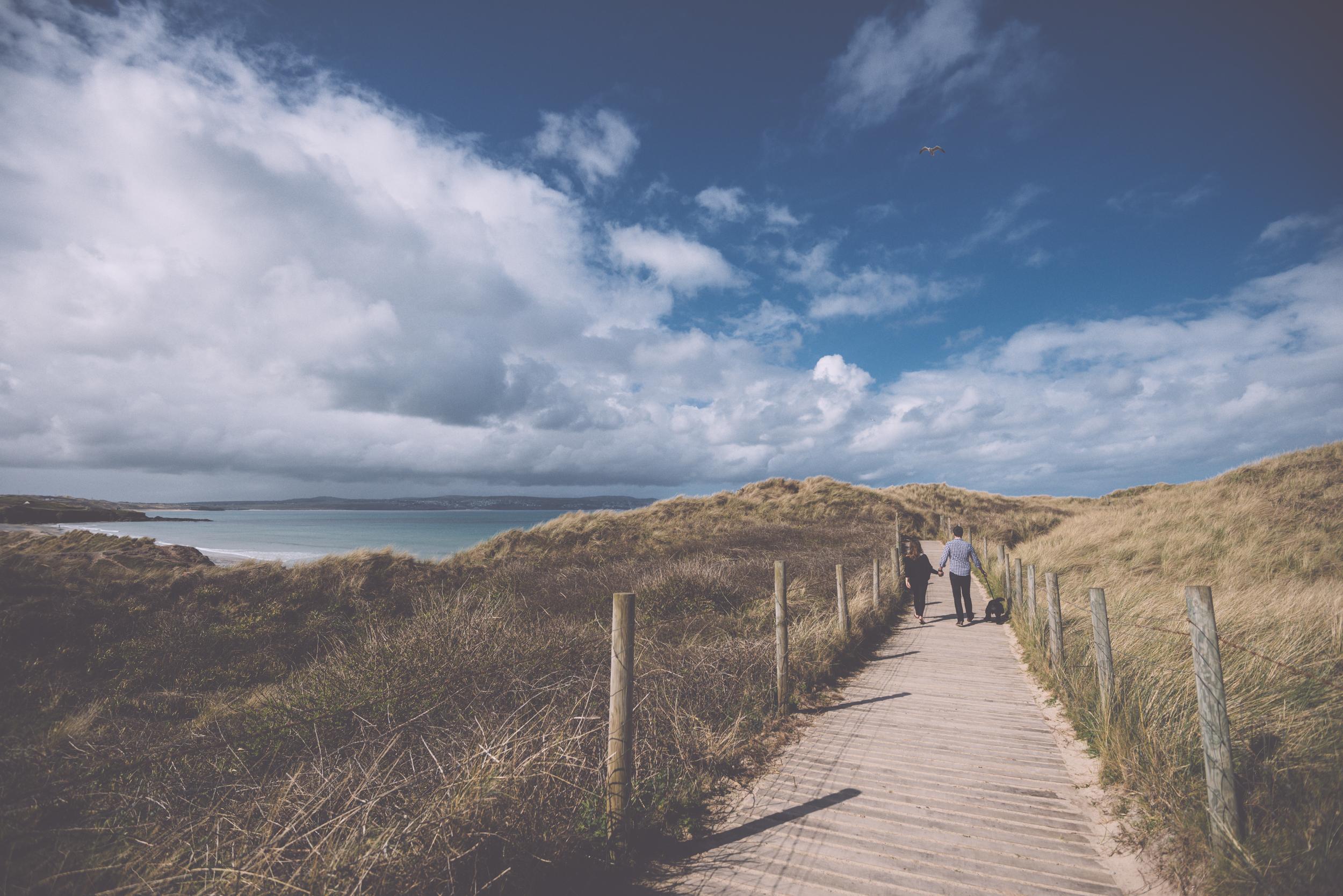 Engagement photographer Cornwall