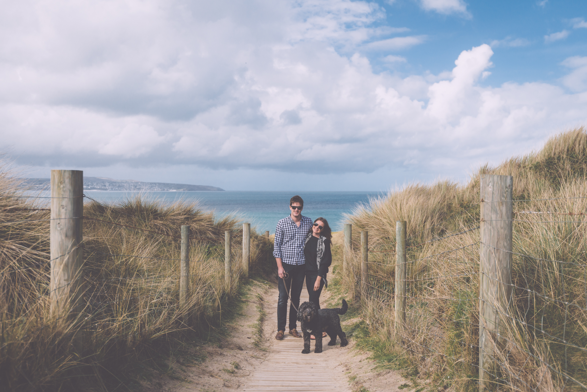 Cornwall Engagement shoot