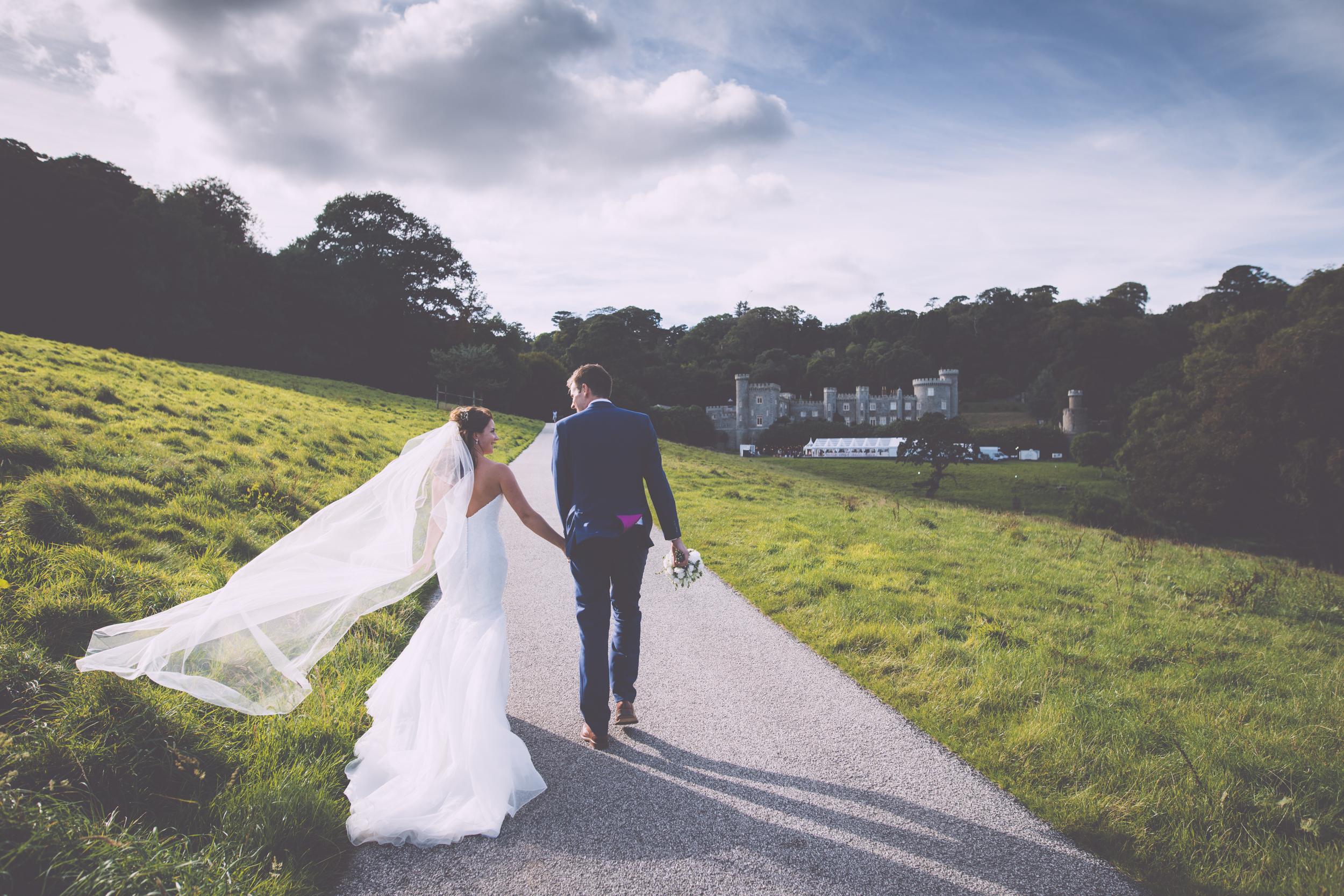 Caerhays Castle Wedding.