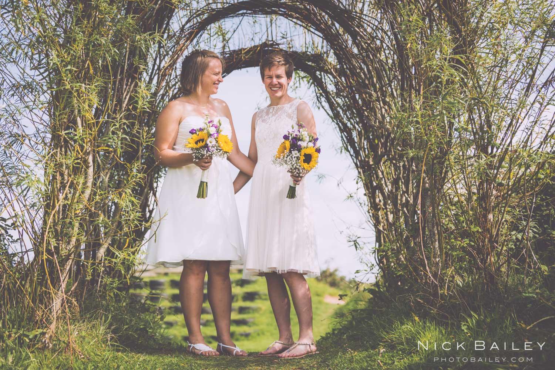 wedding photographer porthtowan