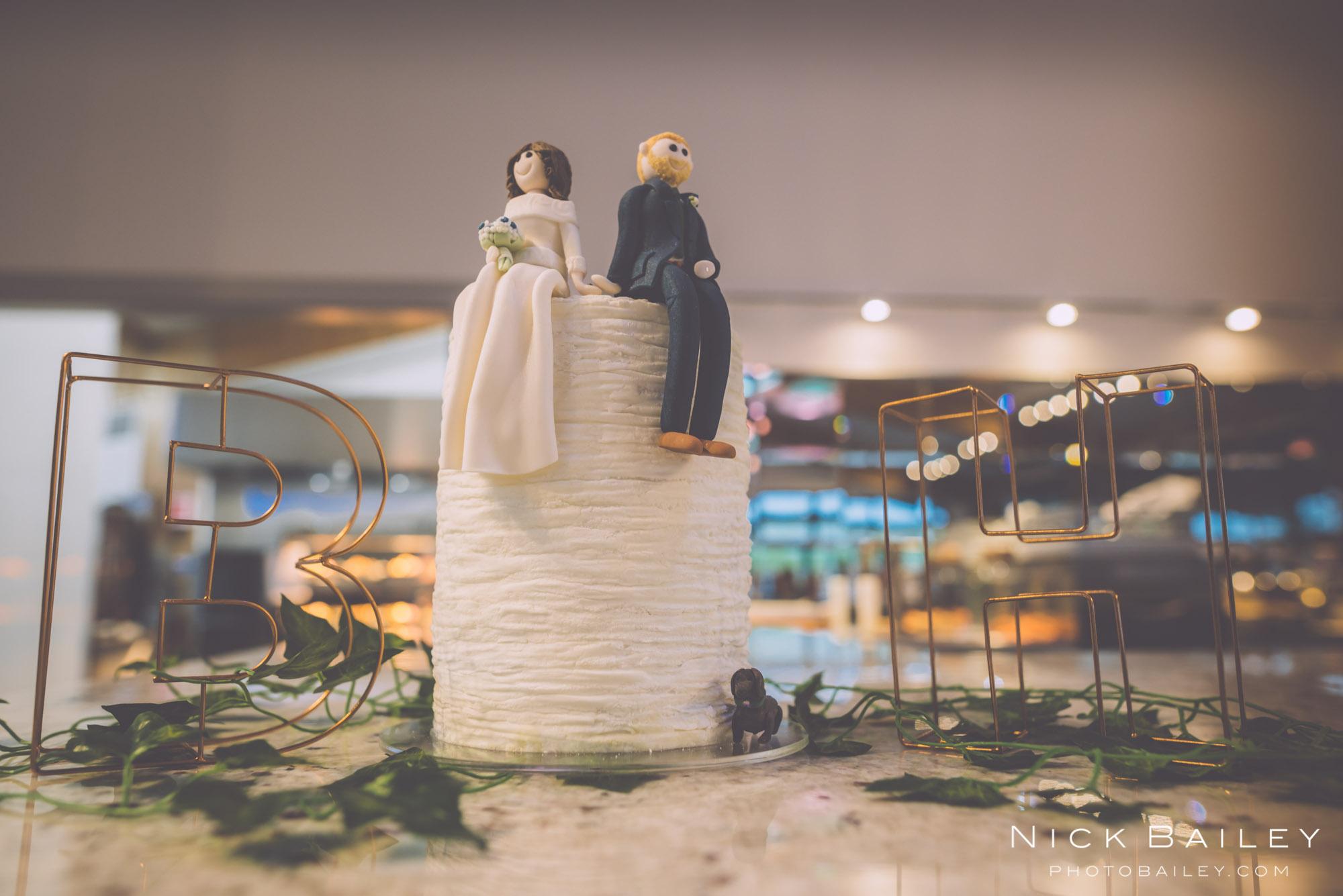 Trevibban Mill Wedding Cake
