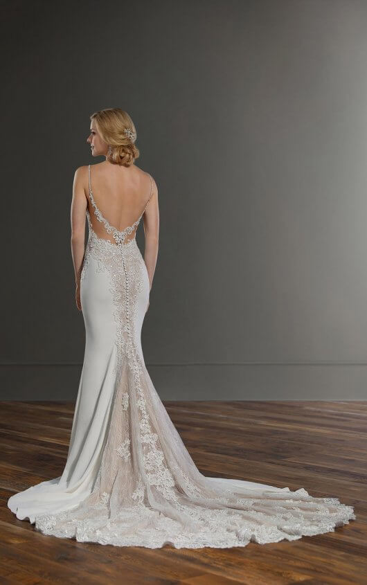"Martina Liana - style 1004  ""A gown that will make a statement on any wedding day, this sexy wedding dress with shaped cutouts from Martina Liana is completely unique! """