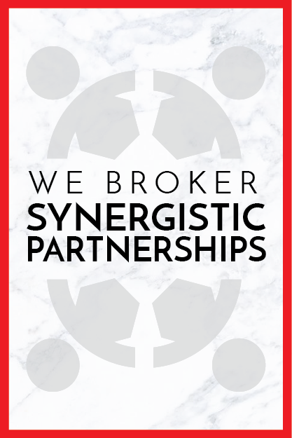 We curate and broker partnerships for our clients with synergistic brands to expand their audience, enhance visibility, and elevate the love of a brand to a whole new level.