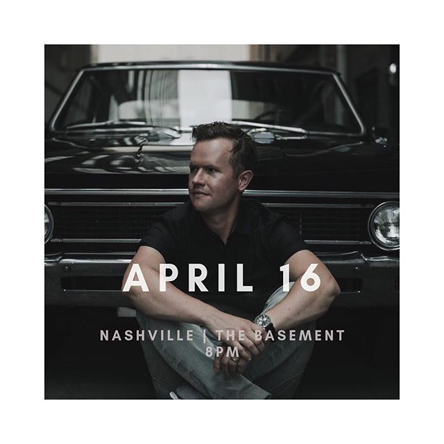 See you guys tonight! First band starts at 8pm. I'll post the order at 7:30 when it's released. . . . . . . . . . #nashville #newmusic #thebasement #og