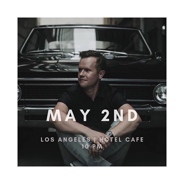 Next show is in LA. May 2nd @thehotelcafe | 10PM. Bring your buds! . . . . . . . . . . . . . . #losangeles #la #hotelcafe #shows