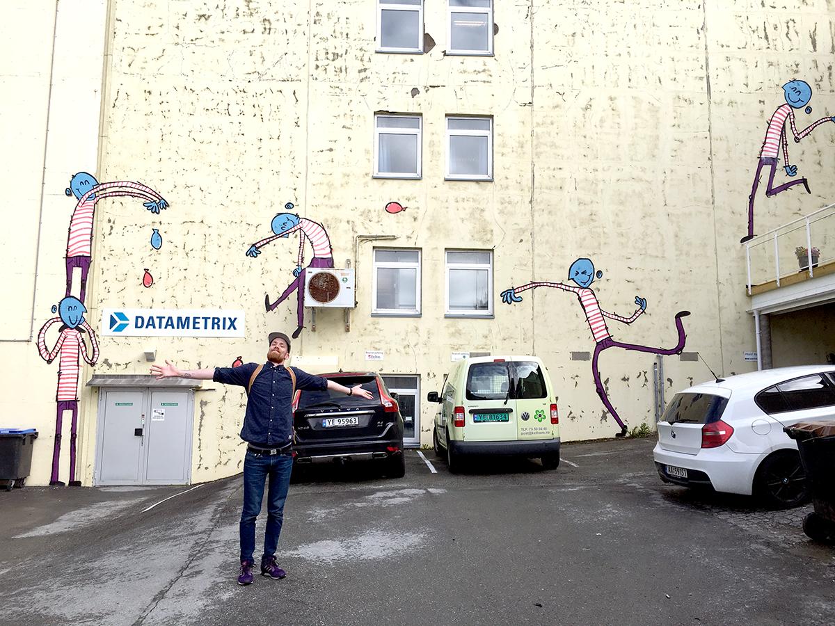 En vannkrig i Bodø.