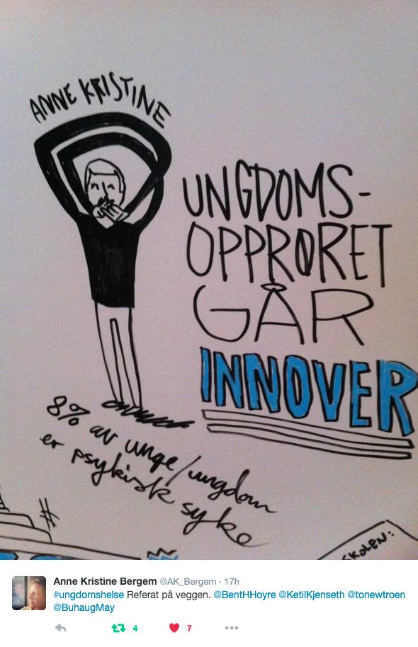 Fra ungdomshelsekonferansen på Lillehammer i 2016