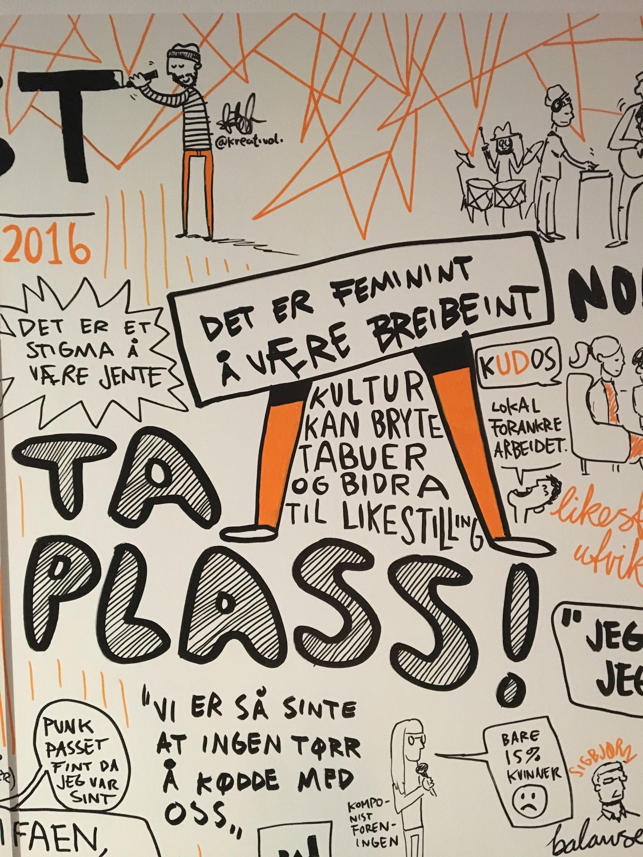 Detalj fra Balansekunstkonferansen i Oslo