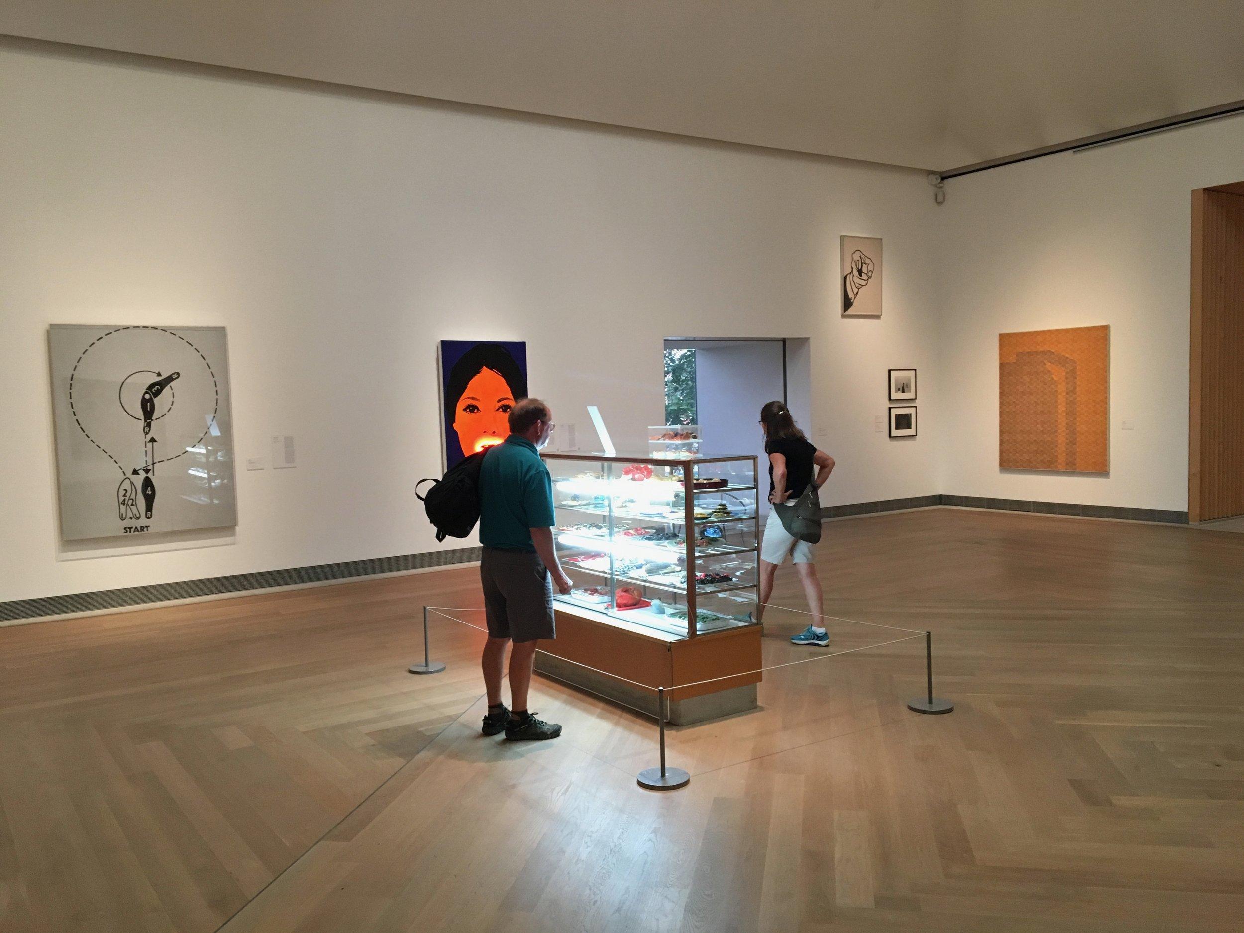 Warhol, Lichtenstein,Slettemark og enda fler.