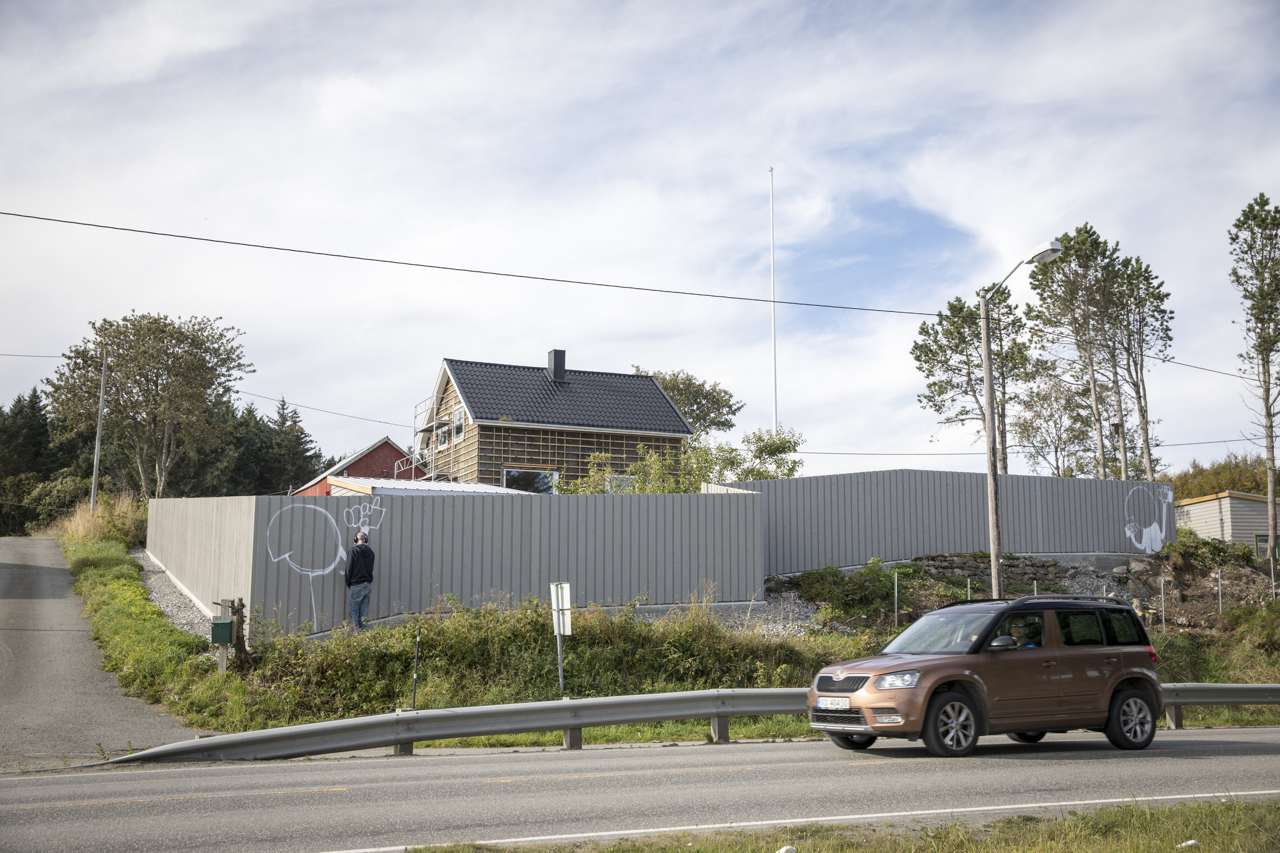 Drive by Frøya-style
