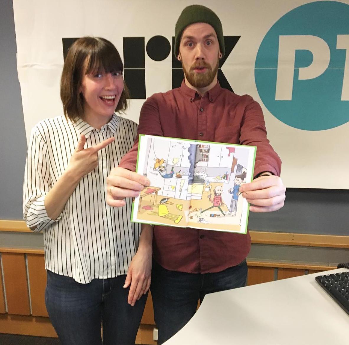 Boka mi og jeg besøkte Ellen Flå i NRK p1 (Trøndelag). Hør innslaget nedenfor her.